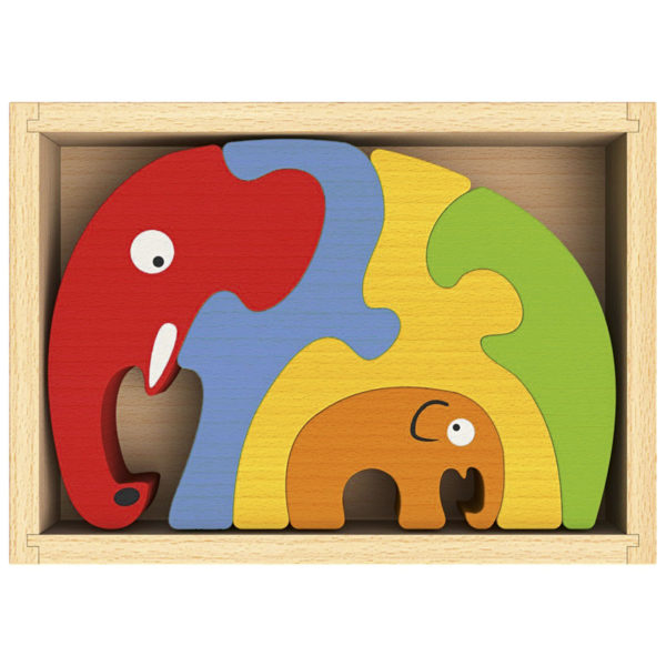 Elephant Familiy Puzzle - EN